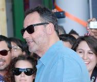 Jean Reno al Giffoni Film Festival 2012 Foto de archivo libre de regalías