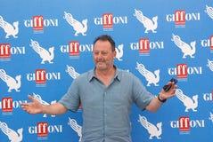Jean Reno al Giffoni Film Festival 2012. Giffoni Valle Piana, Salerno, Italia - 21 Luglio, 2012 : Jean Reno al Giffoni Film Festival 2012 - il 21 Luglio, 2012 a Stock Image