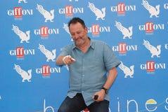 Jean Reno al Giffoni Film Festival 2012. Giffoni Valle Piana, Salerno, Italia - 21 Luglio, 2012 : Jean Reno al Giffoni Film Festival 2012 - il 21 Luglio, 2012 a Royalty Free Stock Photo