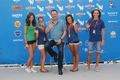 Jean Reno al Giffoni Film Festival 2012 Royalty Free Stock Photo