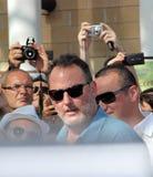 Jean Reno al Giffoni Film Festival 2012. Giffoni Valle Piana, Salerno, Italia - 21 Luglio, 2012 : Jean Reno al Giffoni Film Festival 2012 - il 21 Luglio, 2012 a Royalty Free Stock Photography