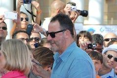 Jean Reno al Giffoni Film Festival 2012 Royalty Free Stock Photography