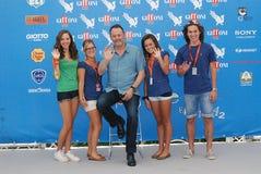 Jean Reno al Giffoni Film Festival 2012 Royalty Free Stock Images