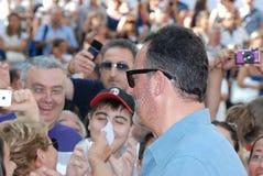 Jean Reno al Giffoni Film Festival 2012. Giffoni Valle Piana, Salerno, Italia - 21 Luglio, 2012 : Jean Reno al Giffoni Film Festival 2012 - il 21 Luglio, 2012 a Royalty Free Stock Photos