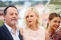 Jean Reno, Charlize Theron, Adele Exarchopoulos Stockfoto