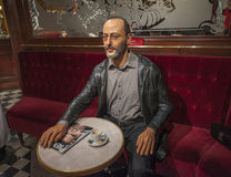 Jean Reno Wax Figure Royalty Free Stock Image