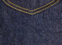 Jean's pocket 1 Stock Photography