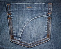 Jean's pocket 3 Stock Photo
