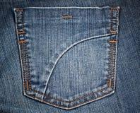 Jean's pocket 3 Stock Photo