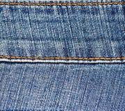Jean's stitch 1 Stock Photo