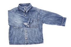 Jean shirt Stock Images
