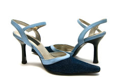 Jean Shoes Royalty Free Stock Images