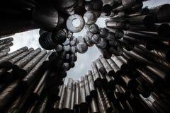 Jean Sibelius-monument Stock Afbeeldingen