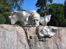 Jean Sibelius Monument i Helsingfors, Finland Fotografering för Bildbyråer