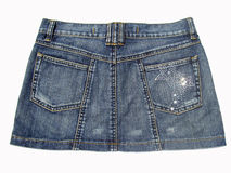 Jean Skirt royalty-vrije stock foto