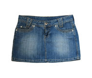 Jean skirt Stock Photography