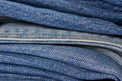 Jean Stack texture Stock Photos