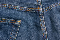 Jean stitches Royalty Free Stock Photos