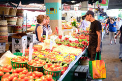 Jean-Talon Market Royalty Free Stock Photos