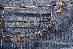 Jean texture abstract background (bag) Stock Image