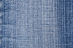Jean texture. Blue denim jeans texture background Stock Photography