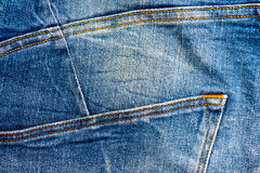 Jean texture Stock Photography