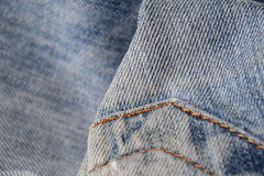 Jean Texture. Royalty Free Stock Photo