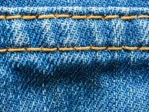 Jean-textuur Stock Afbeeldingen