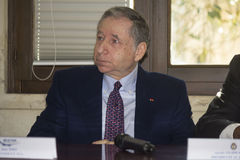 Jean todt portrait clouseup Royalty Free Stock Photos