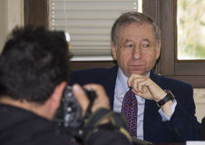 Jean todt portrait interview Royalty Free Stock Photography