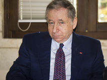 Jean todt portrait president fia Stock Photography