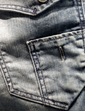 Jean trouser pocket Stock Images