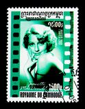 Jeanette Mc Дональд (1903-1965), американское serie кино, около 200 Стоковые Фото