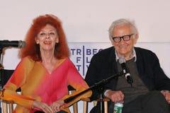 Jeanne-Claude und Albert Maysles Lizenzfreies Stockfoto