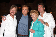 Jeanne Cooper,Doug Davidson,Peter Bergman,Stephen Nichols Royalty Free Stock Photo