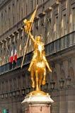 jeanne d łukowy France Paris posąg zdjęcia royalty free