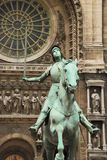 Jeanne d'Arc. Royalty Free Stock Photo