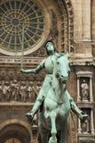 Jeanne d'Arc. Στοκ φωτογραφία με δικαίωμα ελεύθερης χρήσης