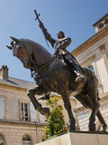 Jeanne d'Arc. Memorial in honor of heroine Stock Photography