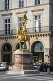 Jeanne D'Arc Statue Royalty Free Stock Images