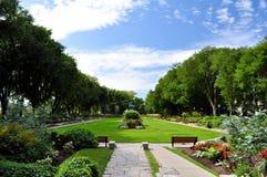 jeanne del giardino dell'arco d immagine stock libera da diritti