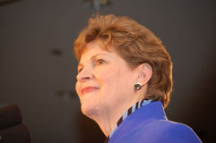 Jeanne Shaheen at Election night 08 Royalty Free Stock Photo