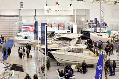 Jeanneau Stand At Big Blue Rome Sea Expo, 2011 Stock Image