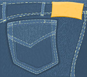 Jeans 01 Royalty Free Stock Photography