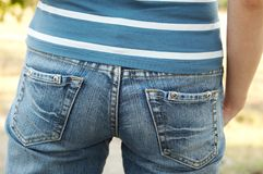 Jeans 03 Royalty Free Stock Photos