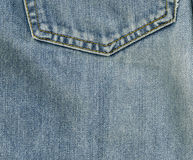 Jeans. Denim fabric close-up Royalty Free Stock Images