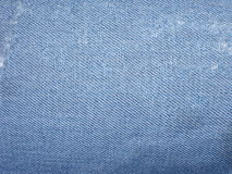 Jeans. A photo texture of a fabric jeans Stock Photography