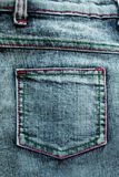 Jeans. Close-up of  blue Jeans Royalty Free Stock Photo