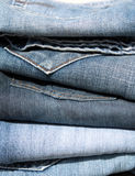 jeans Arkivbild