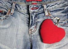 jeans Royaltyfri Fotografi